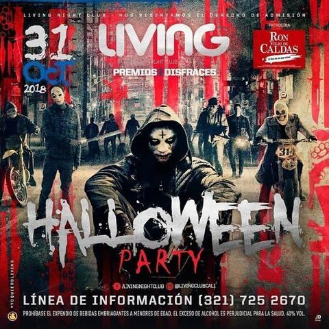 Halloween Party en Living