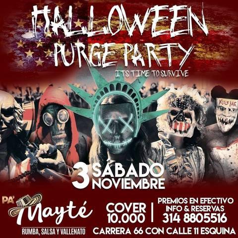 Halloween Purge Party