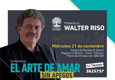 CONFERENCIA CON WALTER RISO