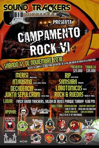 CAMPAMENTO ROCK VI