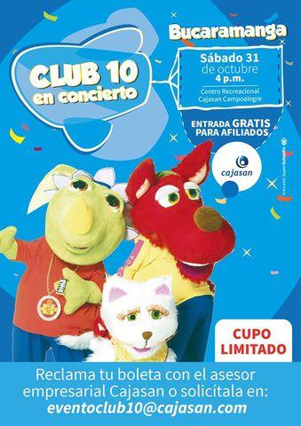CLUB 10 EN CONCIERTO