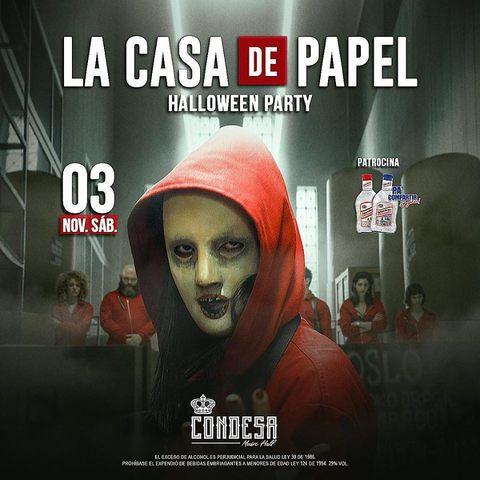 Halloween Party, La Casa de Papel