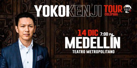 Yokoi Kenji Tour Colombia 2018