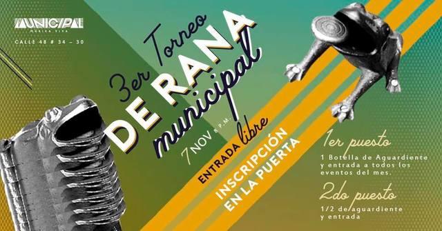 3er Torneo de Rana Municipal