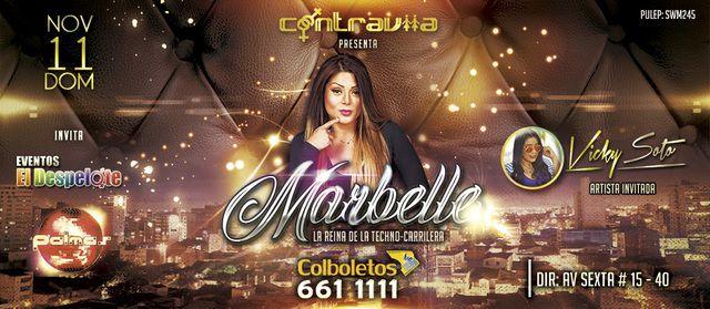 Marbelle en concierto