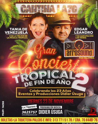 Gran Concierto Tropical de Fin de Año II