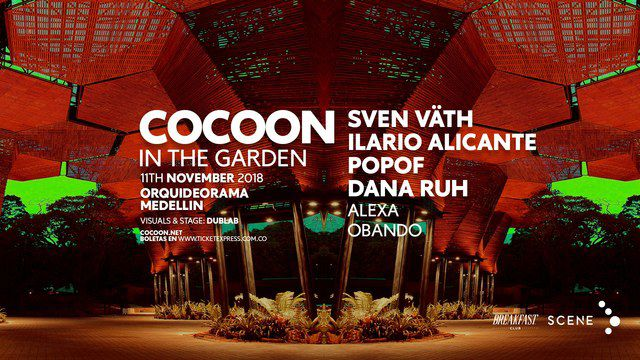 Cocoon in the Garden