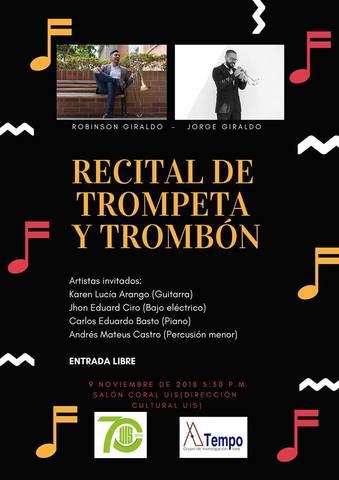Recital de Trompeta y Trombón