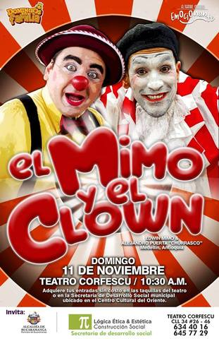 El Mimo y el Clown