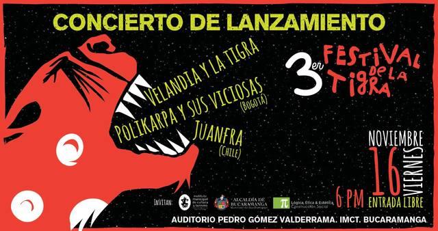 Concierto de lanzamiento 3er Festival de La Tigra