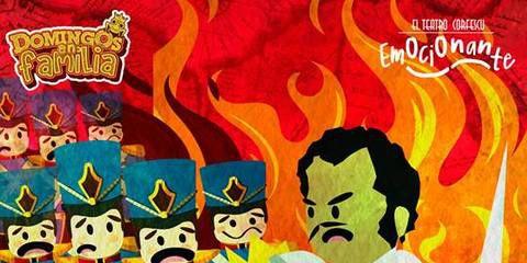 Una historia de héroes y villanos