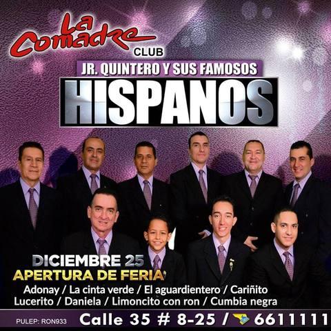 Jr. Quintero y Los Hispanos