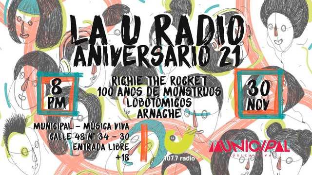 La U Radio Aniversario 21