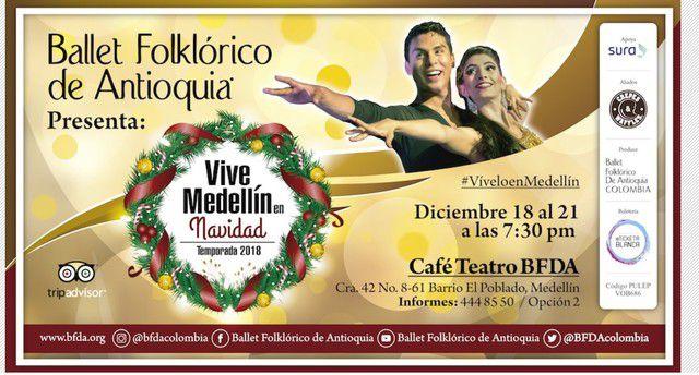 Vive Medellín en Navidad