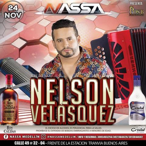 Nelsón Velásquez en Nassa