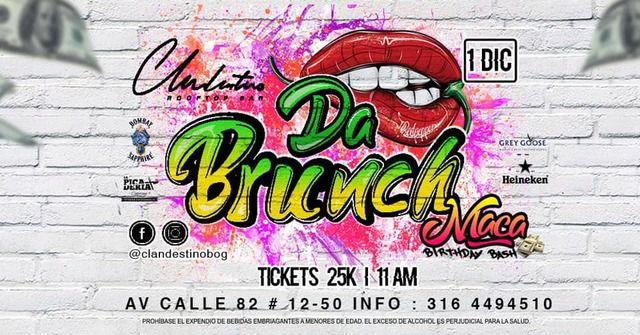 Da Brunch | MACA B-Day Bash