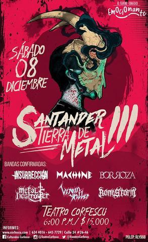 Santander tierra de Metal 3