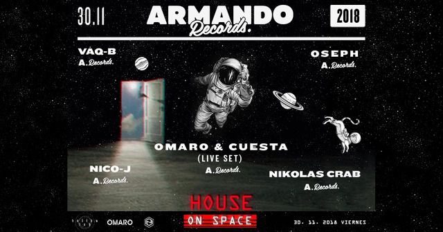 House On Space at Armando Records.