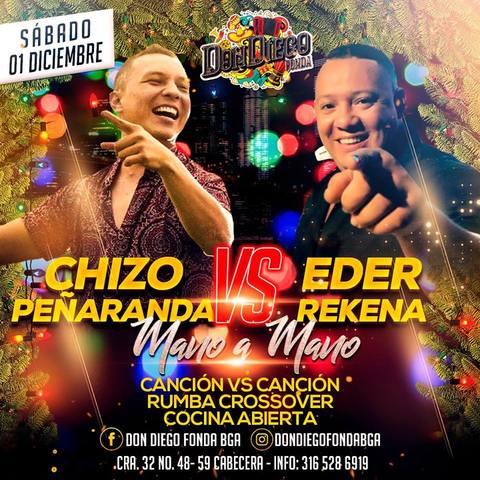 Chizo Peñaranda VS Eder Rekena