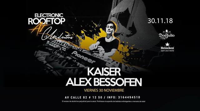 Friday | Alex Bessofen at Electronic Rooftop