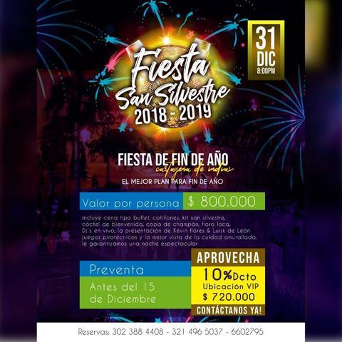 Fiesta Fin De Año 2018-2019