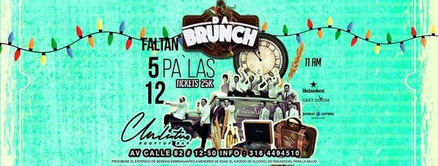 DA BRUNCH | Edición Faltan 5 pa' las 12