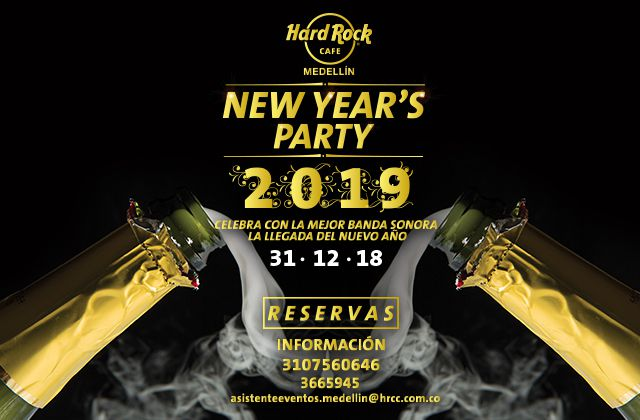 NEW YEAR´S PARTY | MEDELLÍN