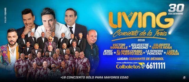 Living Concierto De La Feria 2018