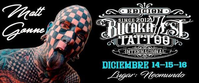 7mo Bucarafest Tatto Internacional