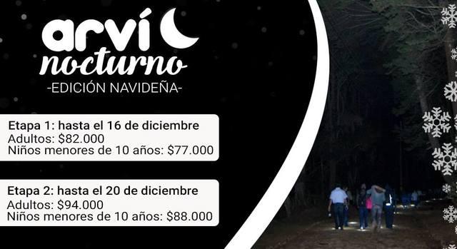 Arví Nocturno Edición Navideña