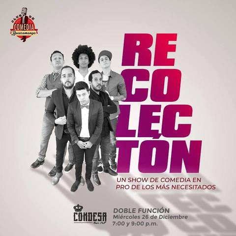 Recolectón - Club de Comedia Bucaramanga
