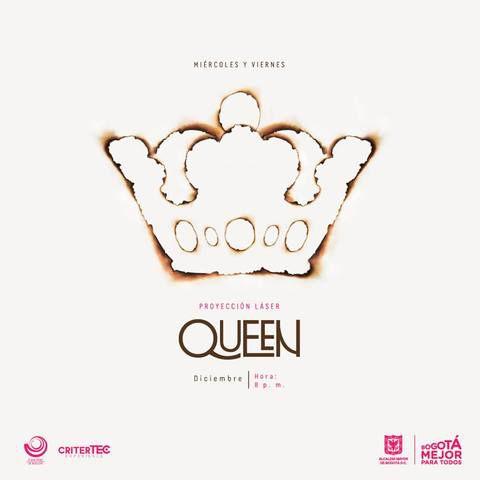 Queen en el Planetario de Bogotá