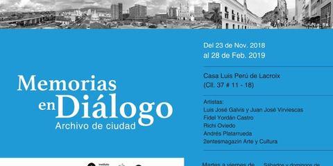 Memorias en Diálogo, archivo de la ciudad