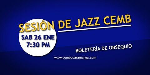 Sesión de Jazz CEMB