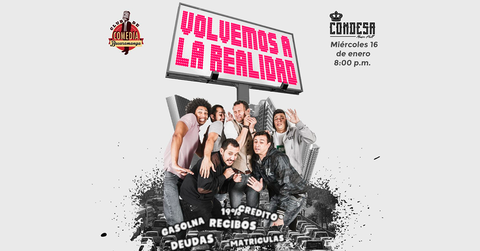 Volvemos a la Realidad - Club de comedia Bucaramanga