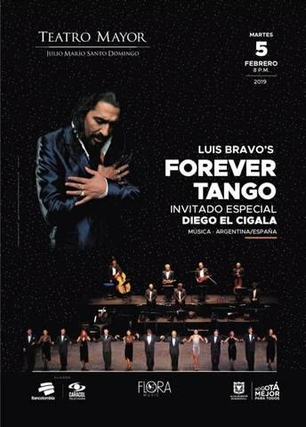 Forever Tango con Diego El Cigala