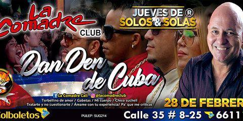 Dan Den de Cuba en concierto