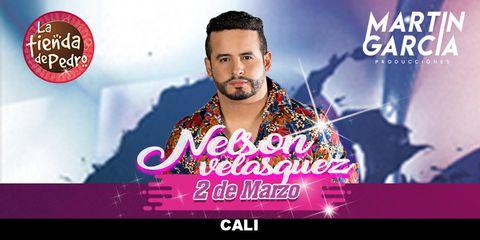 Nelson Velásquez en concierto