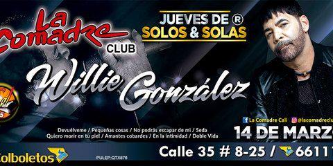 Willie Gonzalez en La Comadre Club