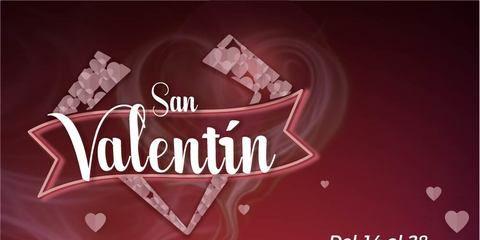 Cena romática San Valentín