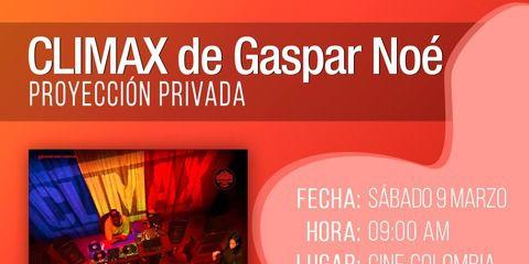 Climax, de Gaspar Noé - Proyección privada