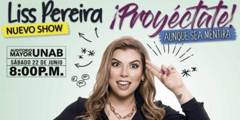 Liss Pereira, el regreso