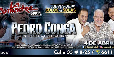 Pedro Conga en concierto