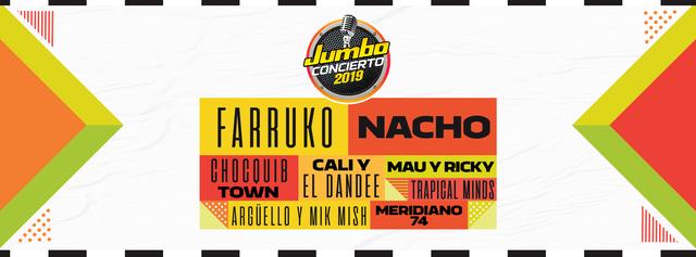 Jumbo Concierto 2019 en Bogota