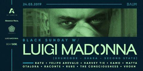 Black Sunday con Luigi Madonna