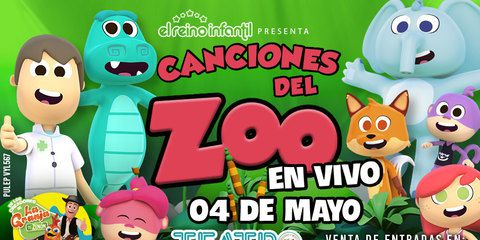 Canciones del Zoo en Vivo