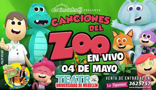 Canciones del Zoo en Vivo