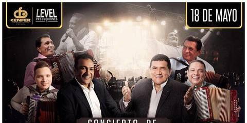 Los Hermanos Zuleta y Los Betos en concierto