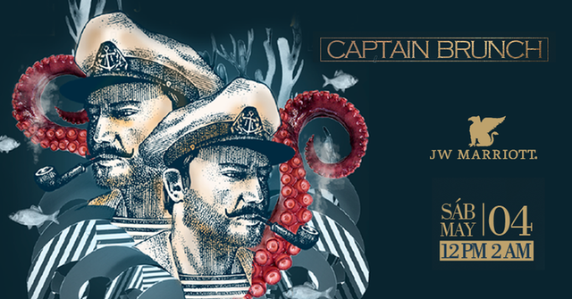 Captain Brunch del JW Marriott Bogotá