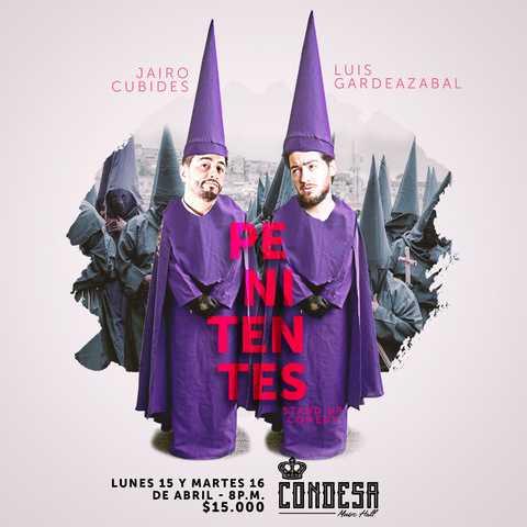 Penitentes, de: Jairo Cubides y Lucho Gardeazábal